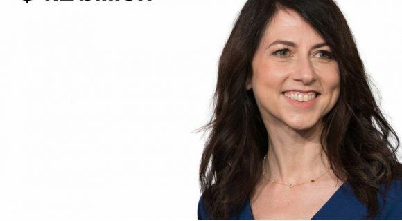 Mackenzie Scott gives Bezos's money away