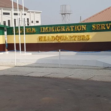 Fire guts Nigeria Immigration Service headquarters