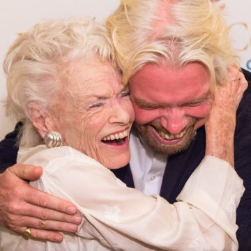 Richard Branson loses mother, Eve to COVID-19