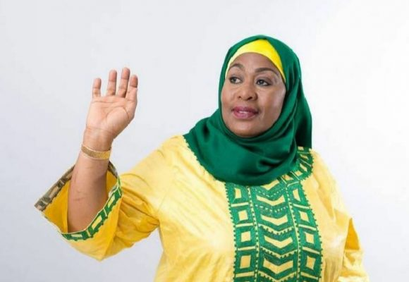 Tanzania welcomes the first female President